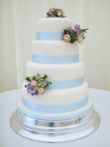 3 Mini Posy Cake Decorations