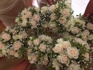 Bridesmaids Bouquets, Bolney