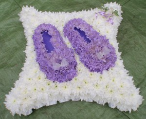 3D Lilac Slipper Tribute, Haywards Heath