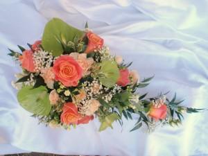 Miss Piggy Rose Shower Bouquet, Burgess Hill
