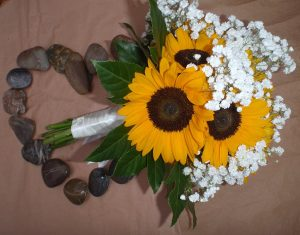 Olivia's Sunflower Bridal Bouquet