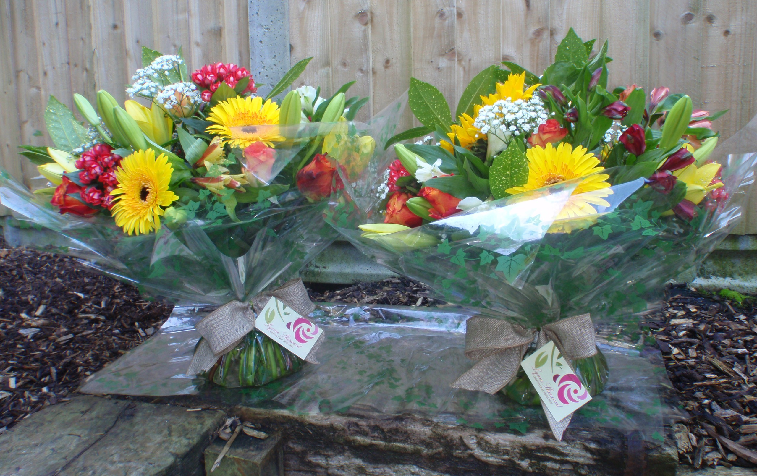 20 Years Service Bouquets