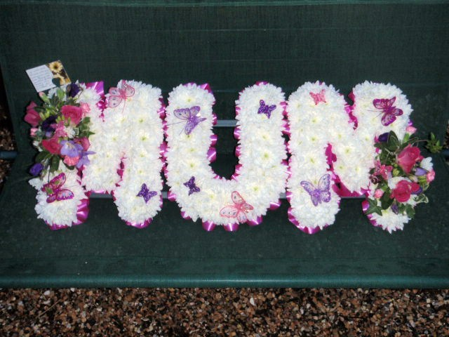 Mum Tribute with Butterflies