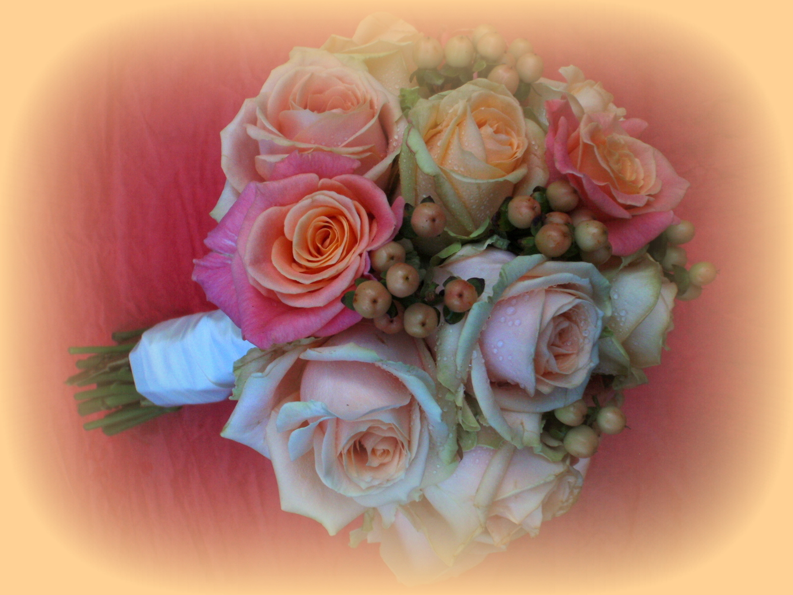 Sophie's Wedding Bouquet