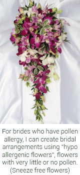 Hypo Allergenic Flowers