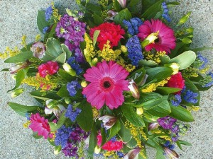 Colourful Posy, Haywards Heath