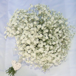 Gypsophila Hand Tie Bouquet, Lindfield