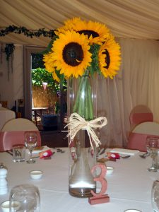 Sunflower Table Decoration