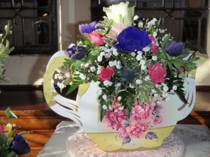 Teapot Vase Arrangement, Haywards Heath