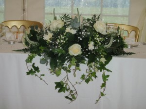 Top Table Decoration, Bolney