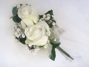 White Rose Corasage